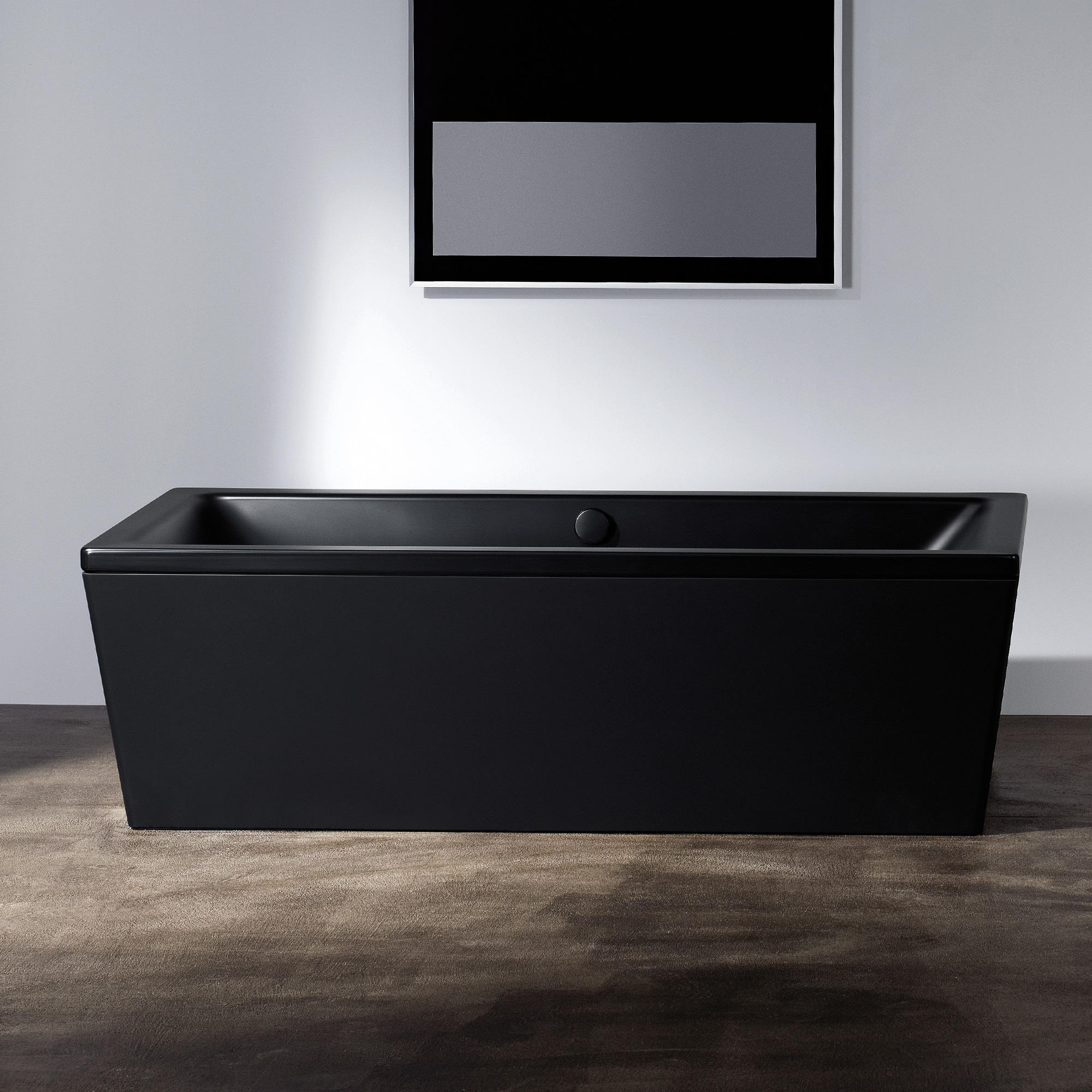 badewanne schwarz matt schwimmbad und saunen. Black Bedroom Furniture Sets. Home Design Ideas