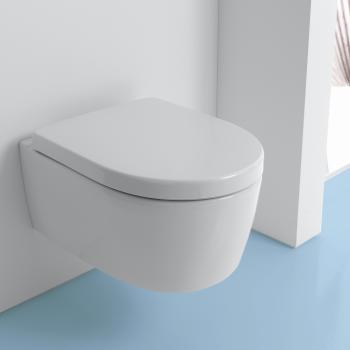Keramag iCon Wand-Tiefspül-WC ohne Spülrand weiß mit KeraTect