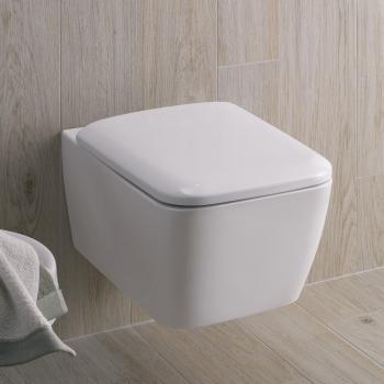 Keramag it! Wand-Tiefspül-WC ohne Spülrand weiß mit Keratect