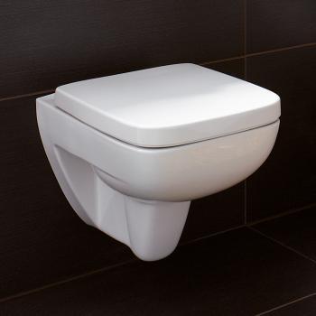 Keramag Renova Nr. 1 Plan Wand-Tiefspül-WC ohne Spülrand weiß mit KeraTect