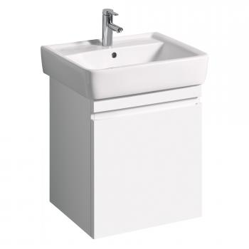Keramag Renova Nr. 1 Plan Waschtischunterschrank mit 1 Auszug Front und Korpus weiß hochglanz