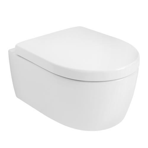 keramag icon wc sitz mit deckel mit absenkautomatik soft close 574130000. Black Bedroom Furniture Sets. Home Design Ideas