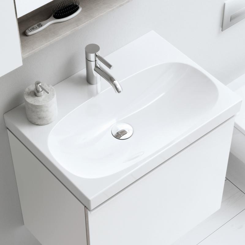 keramag waschtisch keramag acanto waschtisch mit berlauf. Black Bedroom Furniture Sets. Home Design Ideas