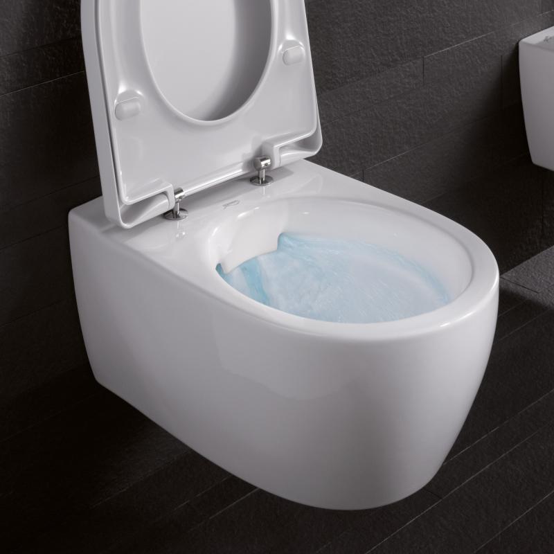 Trendig Keramag iCon Wand-Tiefspül-WC ohne Spülrand weiß - 204060000  RB89