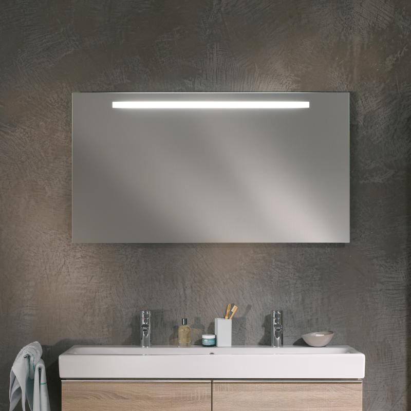 keramag option spiegel mit led beleuchtung 800400000. Black Bedroom Furniture Sets. Home Design Ideas