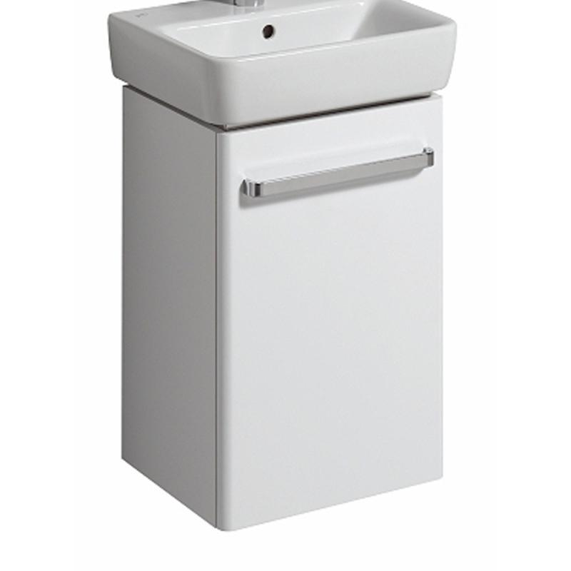 Keramag Renova Nr1 Comprimo Handwaschbecken Unterschrank Front Weiß