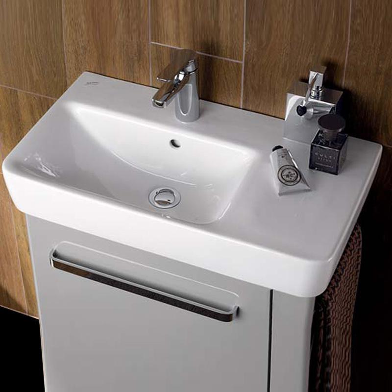 Keramag Renova Nr 1 Comprimo Waschtisch Weiß Mit Keratect