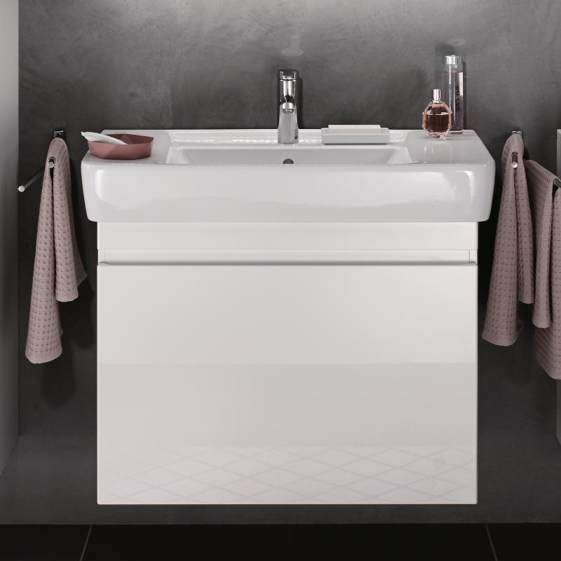 Keramag Renova Nr 1 Plan Waschtischunterschrank Mit 1 Auszug Front