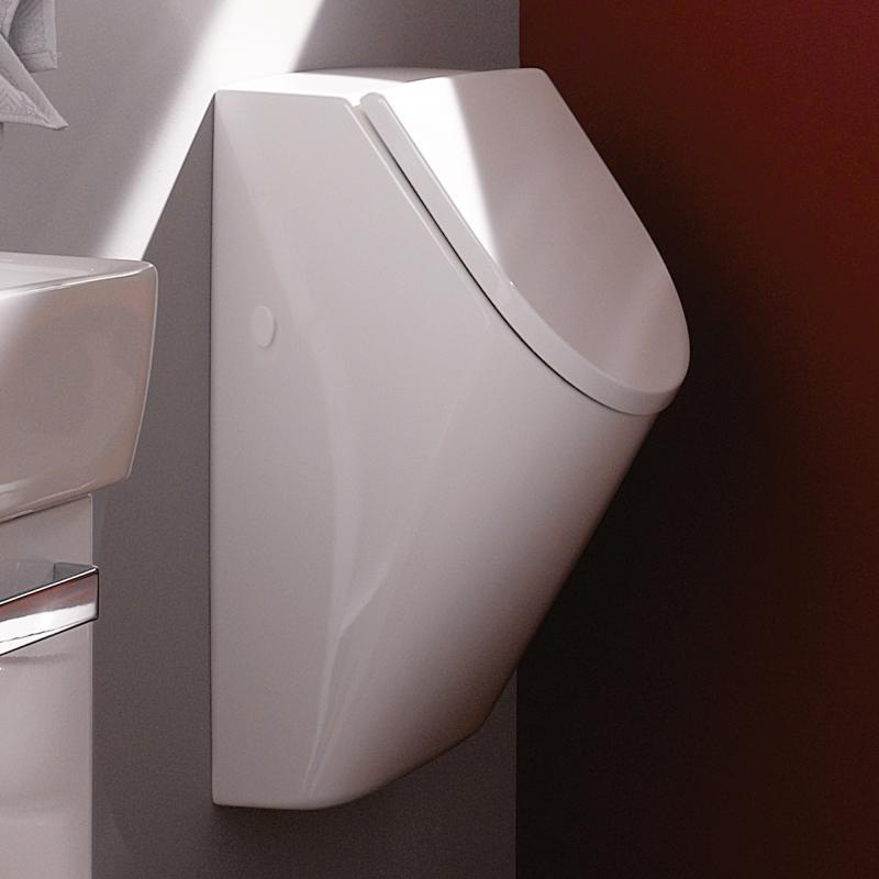 Keramag Renova Nr1 Plan Urinal Mit Deckel Weiß Mit Keratect