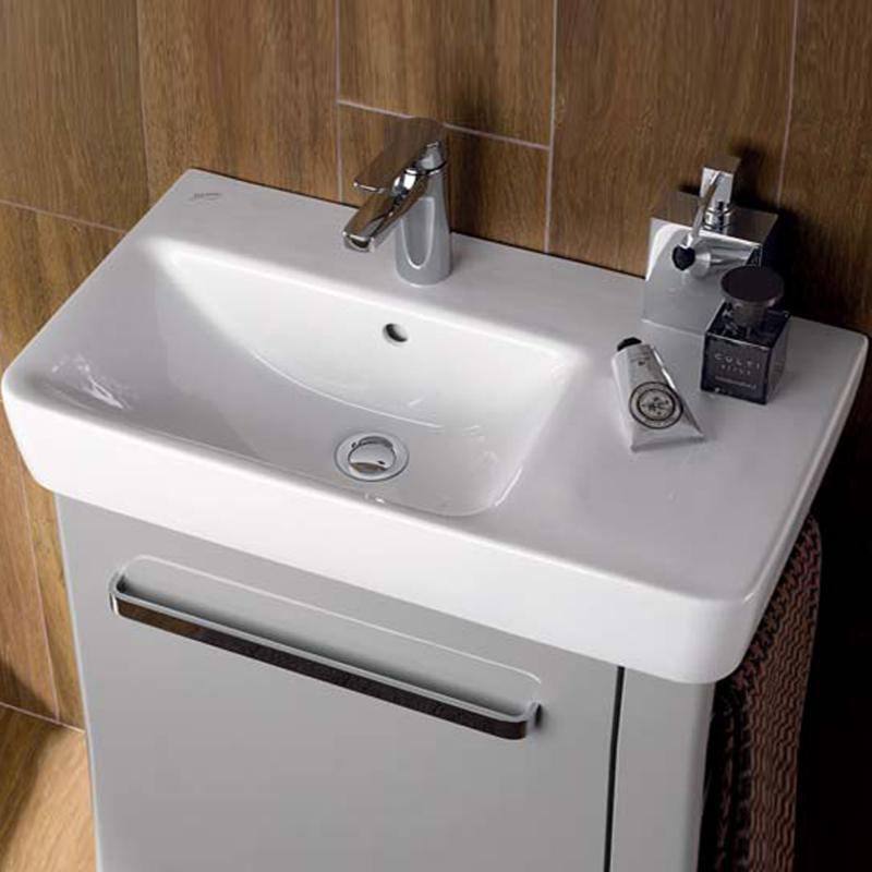 Keramag Renova Nr 1 Plan Waschtisch Mit Ablage Weiß Mit Keratect