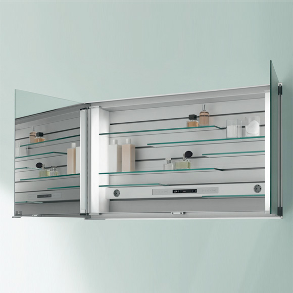 keuco royal integral leucht spiegelschrank f r wandeinbaumontage 26012171303. Black Bedroom Furniture Sets. Home Design Ideas