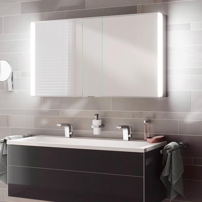 Keuco Royal Match Spiegelschrank mit LED-Beleuchtung - 12804171301 ...