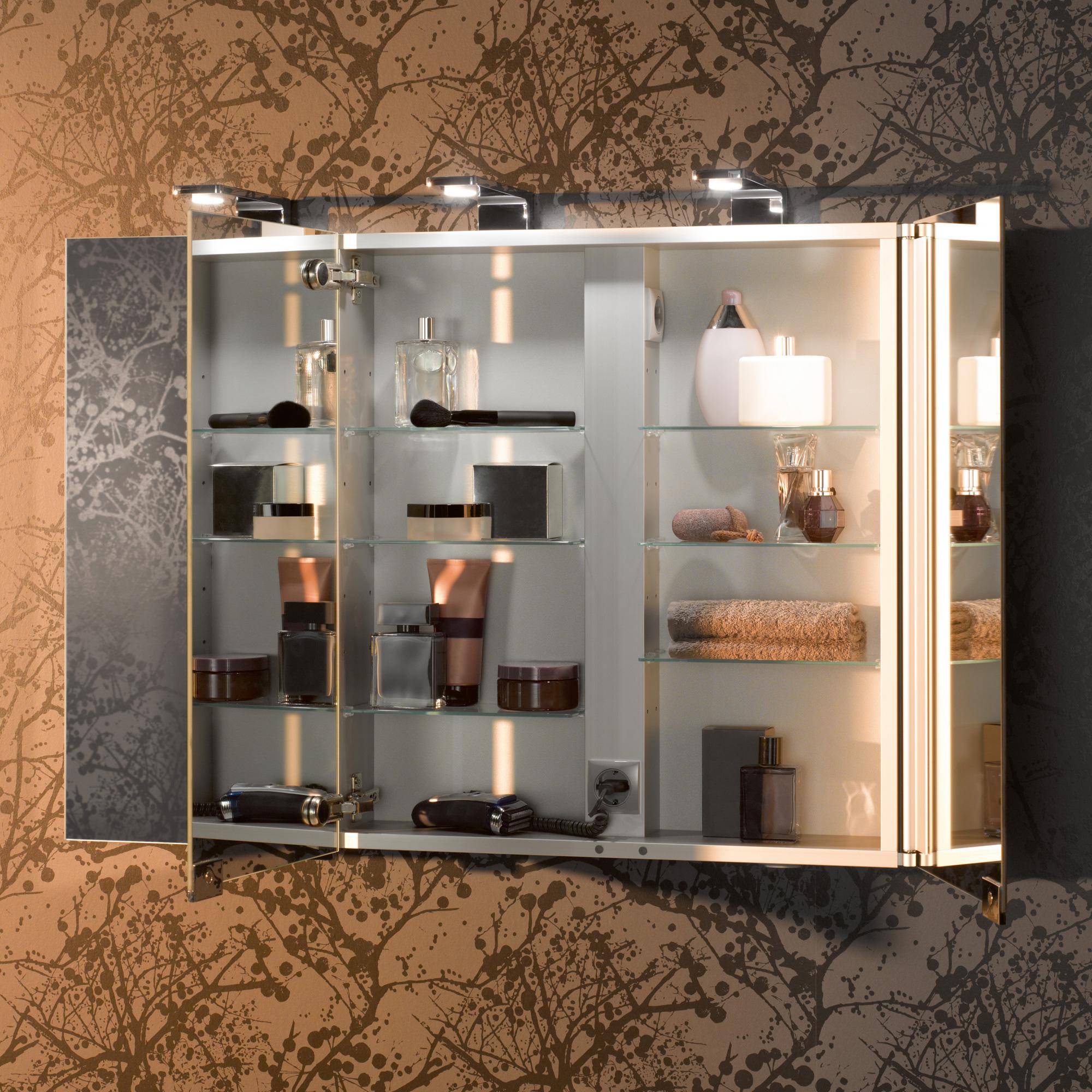 Keuco Royal Universe Spiegelschrank mit 3 Türen   12704171301