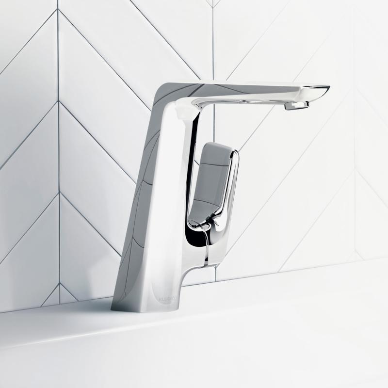 Kludi ameo waschtisch einhandmischer ohne ablaufgarnitur for Waschtisch ablaufgarnitur