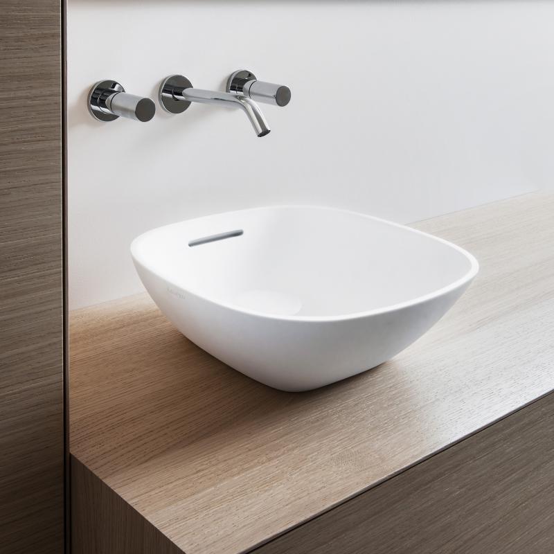 laufen ino waschtisch schale wei mit berlauf h8123000001091. Black Bedroom Furniture Sets. Home Design Ideas