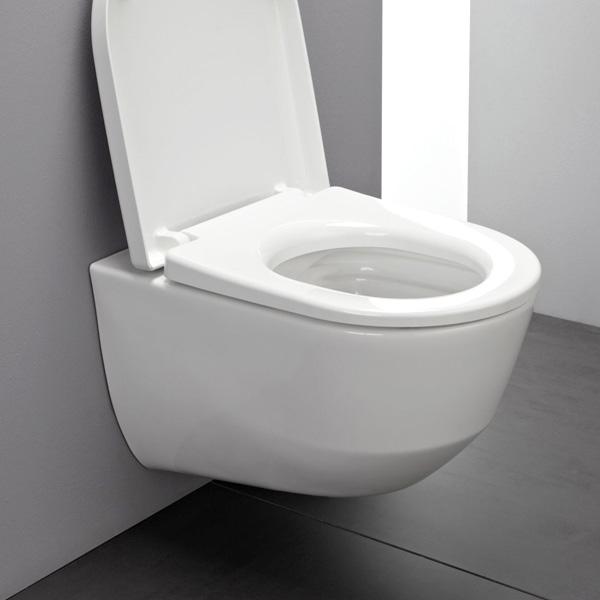 laufen pro wand tiefsp l wc sp lrandlos wei mit clean coat h8209664000001. Black Bedroom Furniture Sets. Home Design Ideas