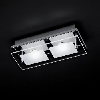 Paul Neuhaus Chiron LED Deckenleuchte 2-flammig