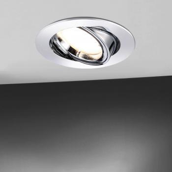 Paul Neuhaus Lumeco LED Einbaustrahler schwenkbar, rund mit Dimmer