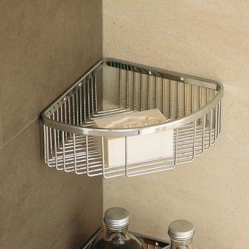 Pomdor Universal Eck-Gitterseifenschale für Dusche B: 200 H: 80 T: 200 mm