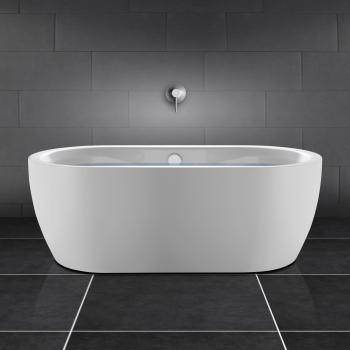 PREMIUM freistehende Oval-Badewanne Länge: 180 cm, Breite: 90 cm