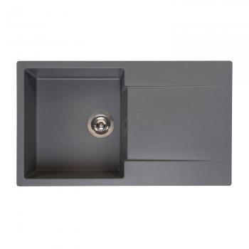 Reginox Amsterdam 10 Küchenspüle grau metallic