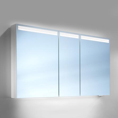 schneider arangaline spiegelschrank b 130 h 70 t 12 cm mit 3 t ren. Black Bedroom Furniture Sets. Home Design Ideas
