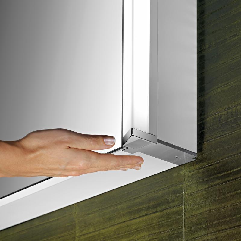 Schneider ELUALINE Spiegelschrank, mit 2 Türen mit verdeckter ...
