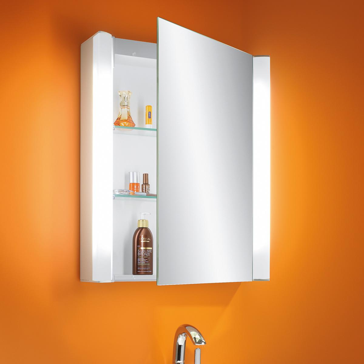 Schneider MOANALINE Spiegelschrank B: 55 H: 64 T: 14 cm, 1 Tür