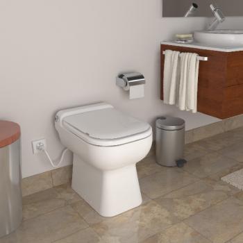 SFA Sanicompact ® Luxe WC mit integrierter Hebeanlage weiß