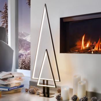 Sompex Pine LED Tischleuchte/Bodenleuchte mit Dimmer