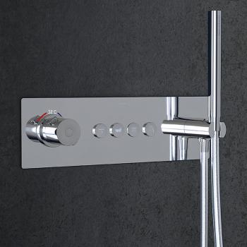 Steinberg Sensual Rain Unterputz-Thermostat für 4 Verbraucher