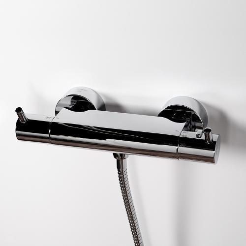 steinberg serie 100 170 brause aufputzthermostat 1 2 100 3200. Black Bedroom Furniture Sets. Home Design Ideas