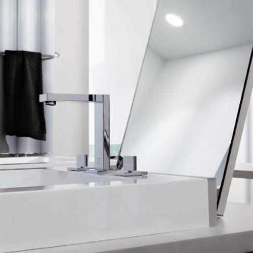 Steinberg serie 160 3 loch waschtisch armatur mit for Waschtisch ablaufgarnitur