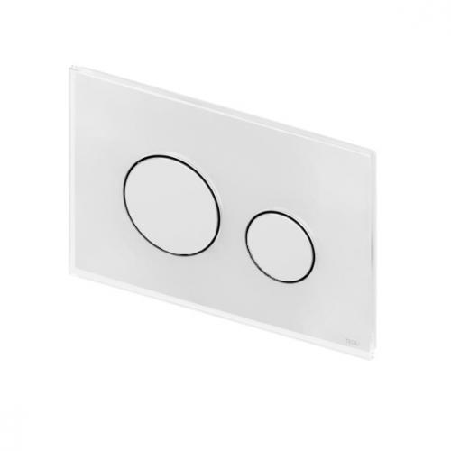 tece loop glas wc bet tigungsplatte f r 2 mengen technik wei 9240650. Black Bedroom Furniture Sets. Home Design Ideas