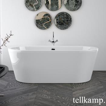Tellkamp Easy freistehende Oval Badewanne