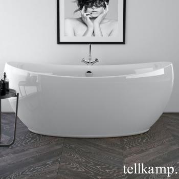 Tellkamp Spirit freistehende Oval Badewanne