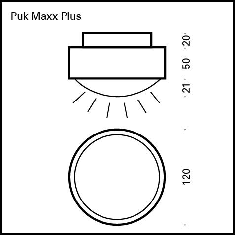 Top Light Puk Maxx Plus Deckenleuchte