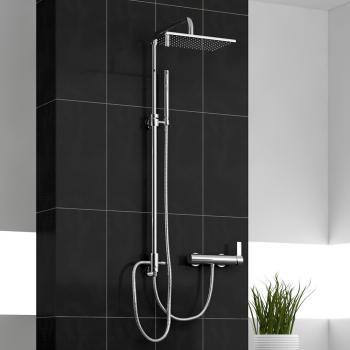 Treos Serie 195 Duschsystem für Wandmontage zum Anschluss an Aufputz Armatur