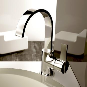 Treos Serie 195 Einhebel-Waschtischarmatur mit Ablaufgarnitur