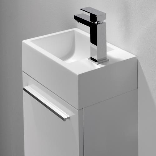 Treos Serie 900 Handwaschbecken mit Unterschrank white