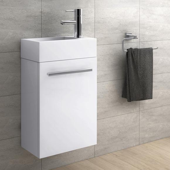 treos serie 900 handwaschbecken mit unterschrank wei. Black Bedroom Furniture Sets. Home Design Ideas