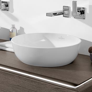 Villeroy & Boch Artis Aufsatzwaschtisch weiß, mit CeramicPlus