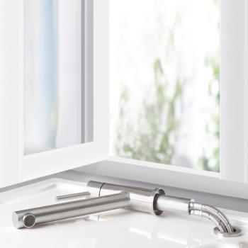 Villeroy & Boch Como Window Einhand-Spültischbatterie, Ausladung 210 mm Vorfenstermontage