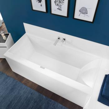 Villeroy & Boch Squaro Edge 12 Rechteck Badewanne weiß