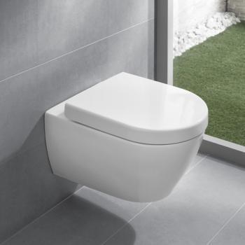 Villeroy U0026 Boch Subway 2.0 Wand Tiefspül WC Offener Spülrand, DirectFlush  Weiß Mit