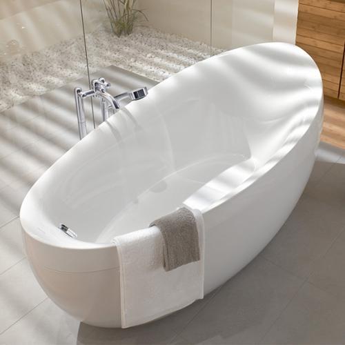 villeroy boch aveo freistehende badewanne wei. Black Bedroom Furniture Sets. Home Design Ideas