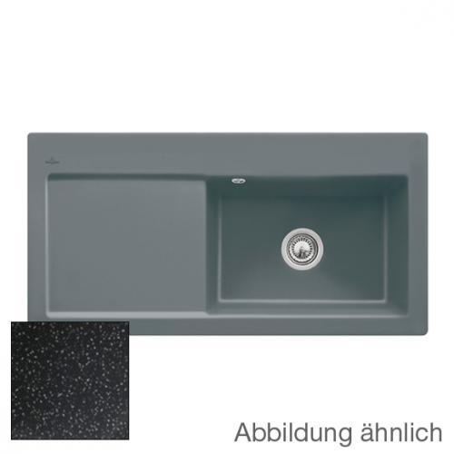 villeroy boch subway 60 xl sp le mit handbet tigung b 100 t 51 cm becken rechts chromit. Black Bedroom Furniture Sets. Home Design Ideas