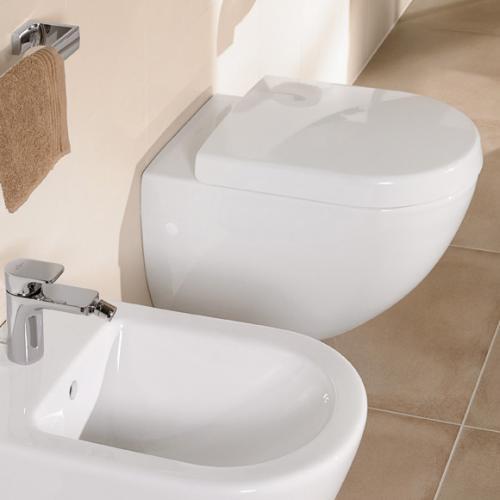 Villeroy & Boch Subway Tiefspül-Wand-WC weiß mit CeramicPlus