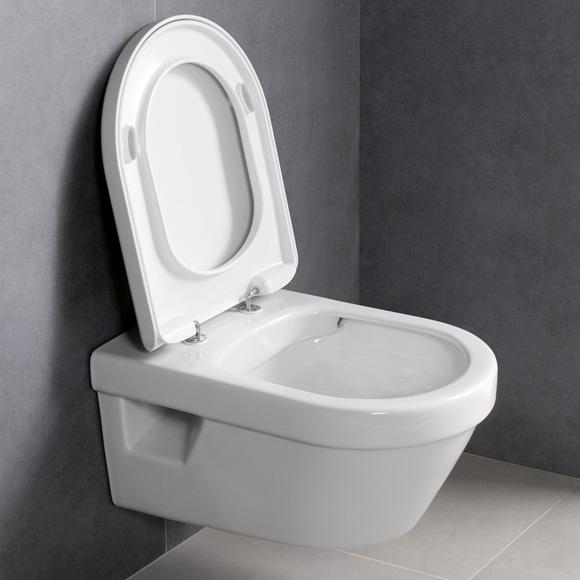 Neu Villeroy & Boch Architectura Wand-Tiefspül-WC, off. Spülrand  TT49