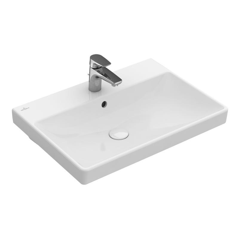 villeroy boch avento waschtisch wei mit ceramicplus 415860r1. Black Bedroom Furniture Sets. Home Design Ideas
